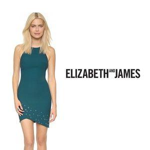 ELIZABETH & JAMES - Gail Grommets Cocktail Dress
